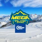 【動画あり】雪山を下るマウンテンバイクレース「Megavalanche」
