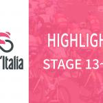 Giro d'italia(ジロ・デ・イタリア2019)ステージ13~15ハイライト【動画】