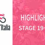 Giro d'italia(ジロ・デ・イタリア2019)ステージ19~21ハイライト【動画】