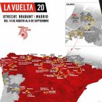【レース】LA VUELTA(ブエルタ・ア・エスパーニャ2020)の日程・コース